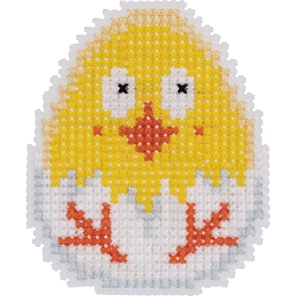 Embroidery kits PANNA 8-445 Chick (Fridge Magnet)