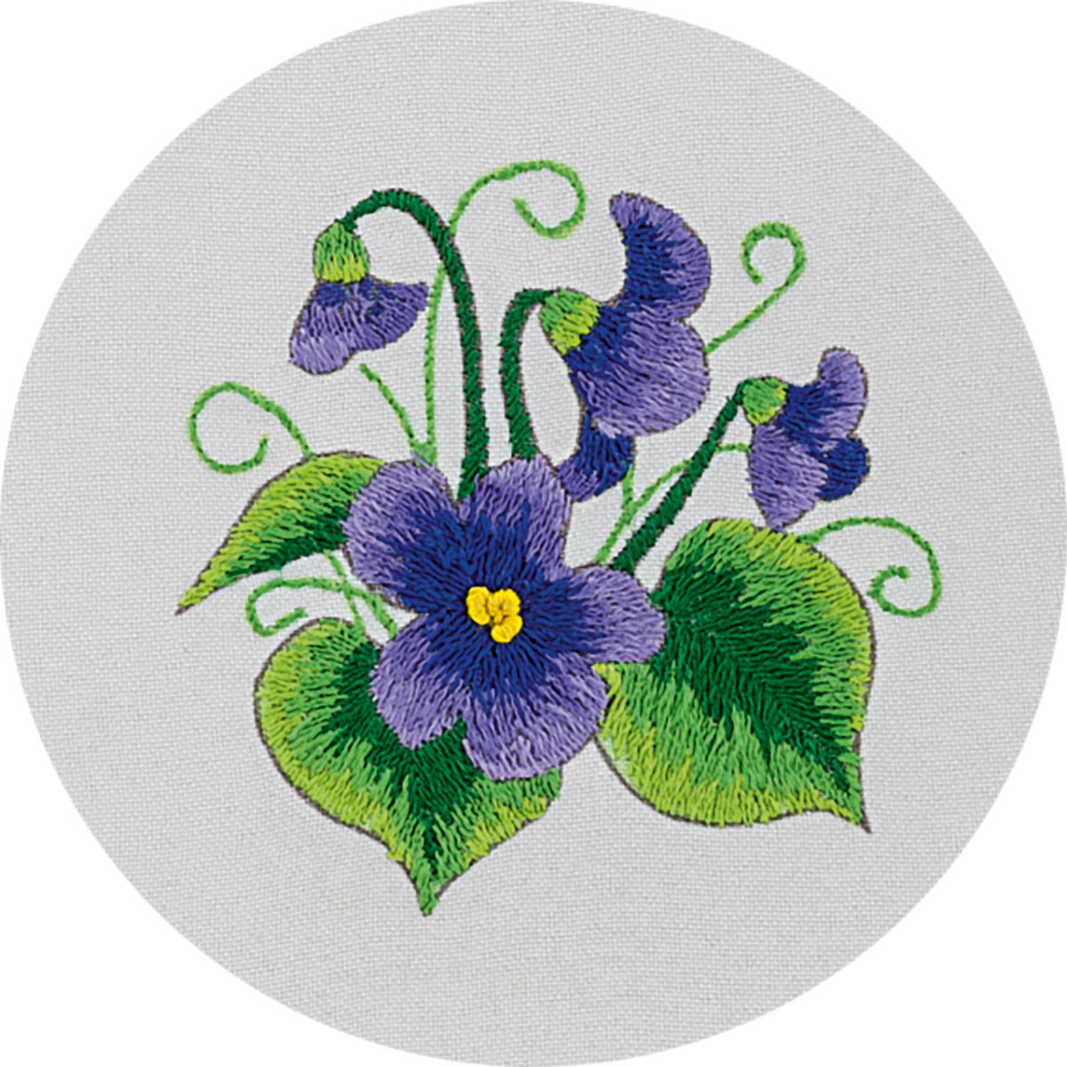 Embroidery kits PANNA C-0945 Wood Violet