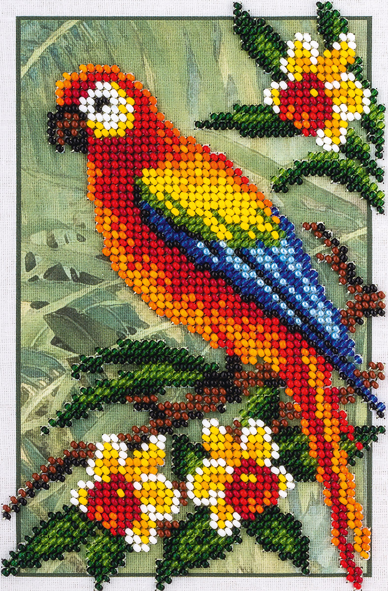 Embroidery kits PANNA 8-144 Macaw