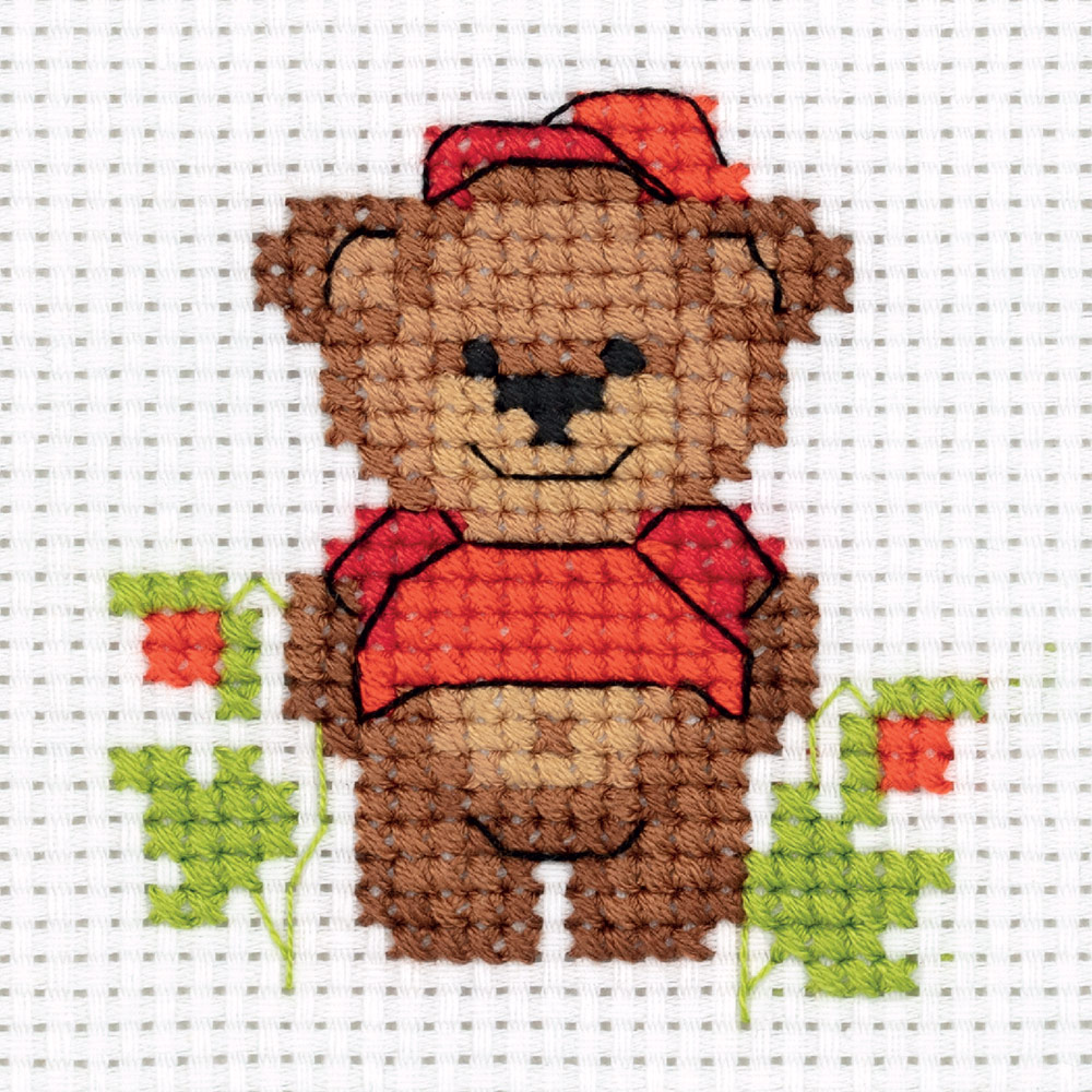 Embroidery kits PANNA 8-342 Baby Bear