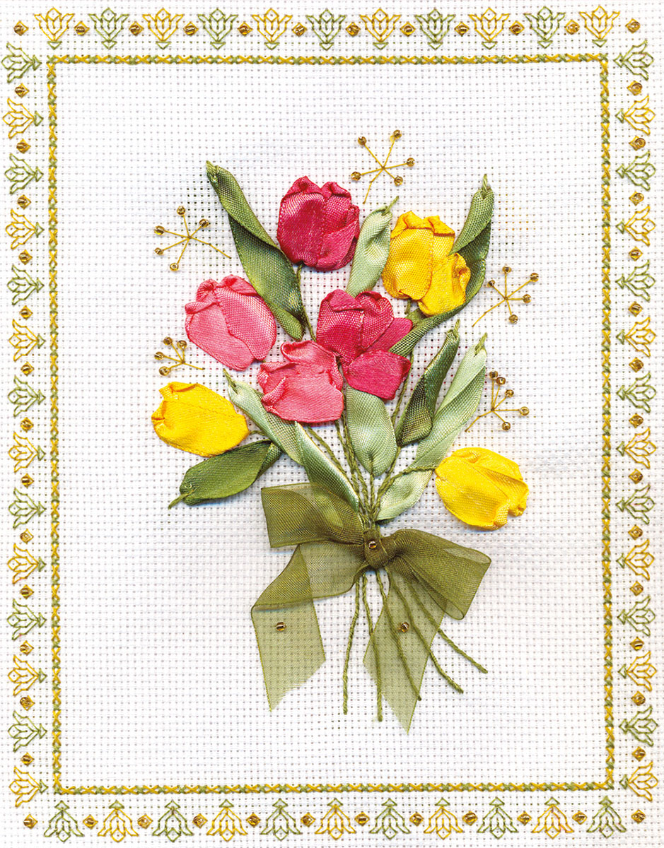Embroidery kits PANNA C-0620 Tulips