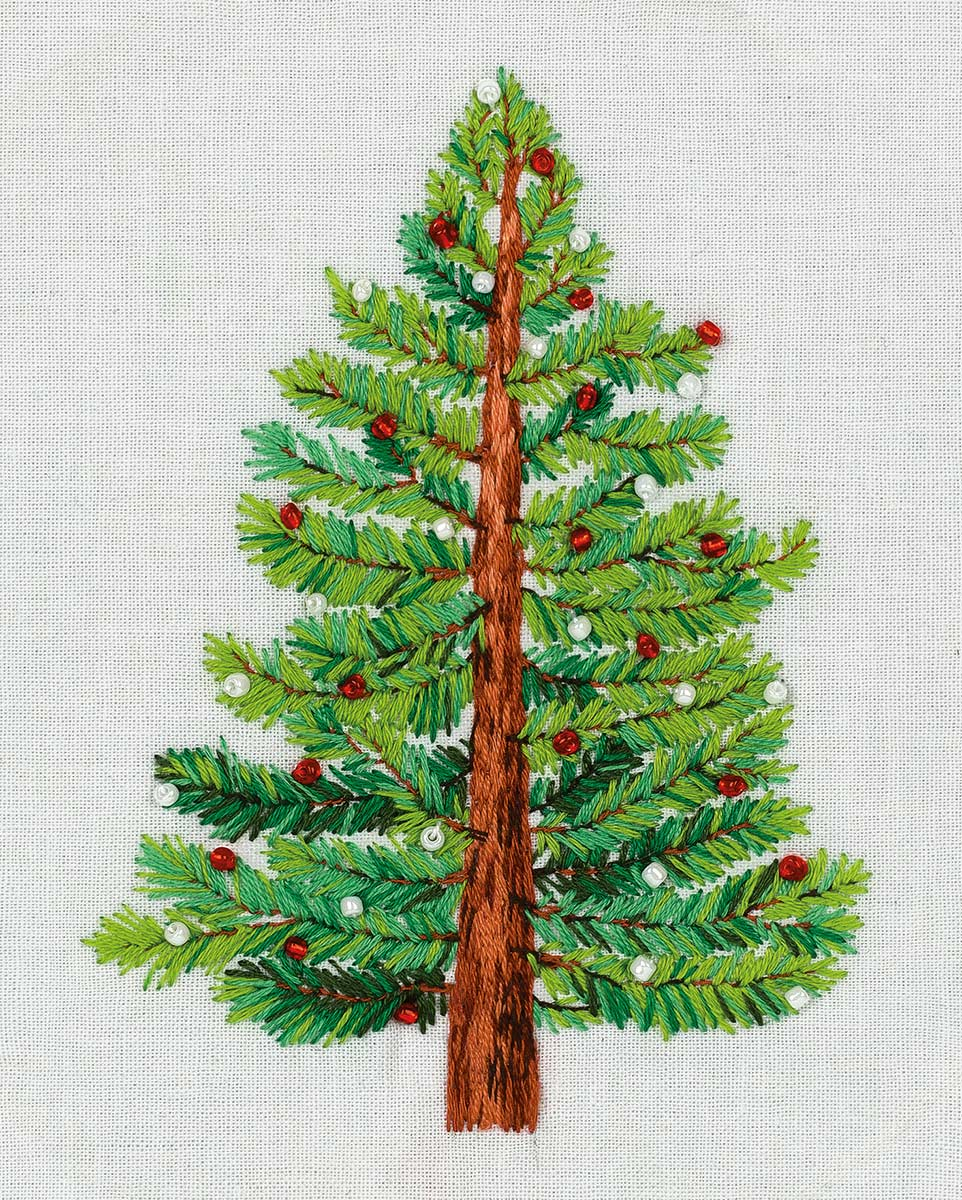 Embroidery kits PANNA Living Picture JK-2190 Christmas Tree