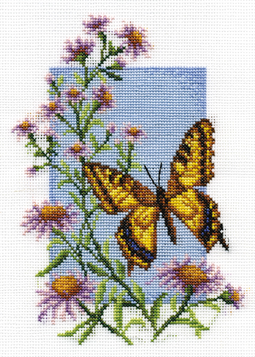Embroidery kits PANNA B-0116 Swallowtail