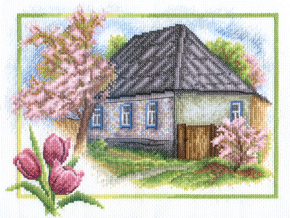 Embroidery kits PANNA PS-0332 Rural Spring
