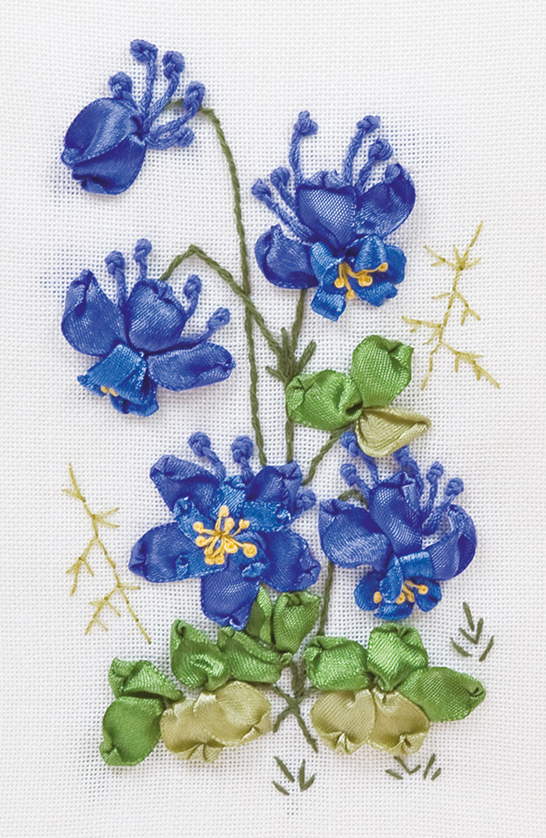 Embroidery kits PANNA C-1011 Columbine