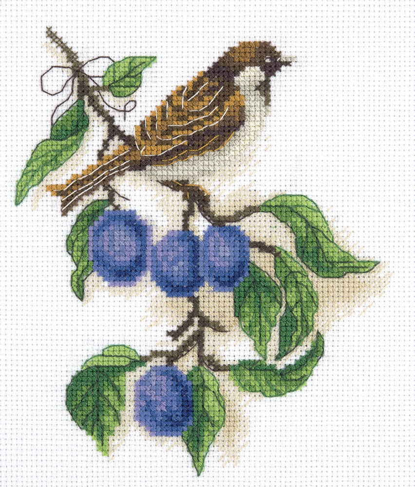 Embroidery kits PANNA 8-246 Plum Tree Branch