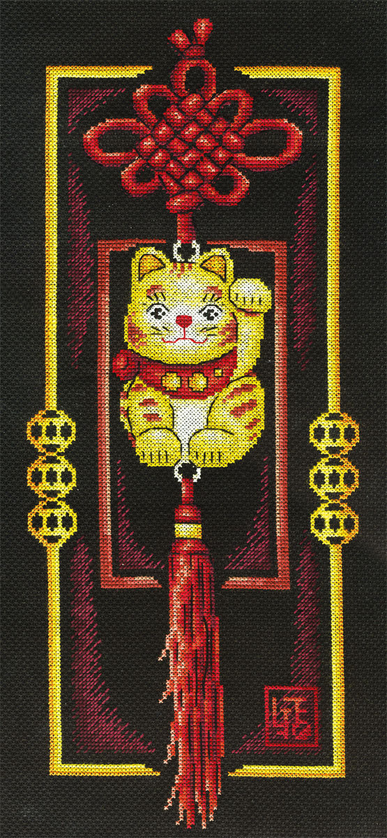 Embroidery kits PANNA SO-0659 Golden Cat