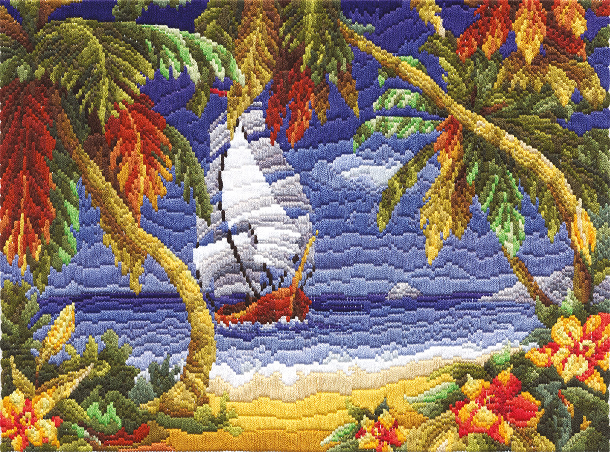 Embroidery kits PANNA PS-1163 Breeze
