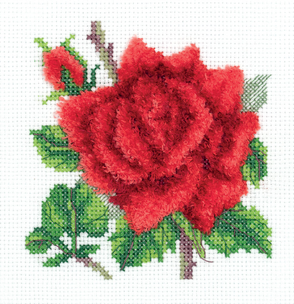 Embroidery kits PANNA 8-351 Red Rose