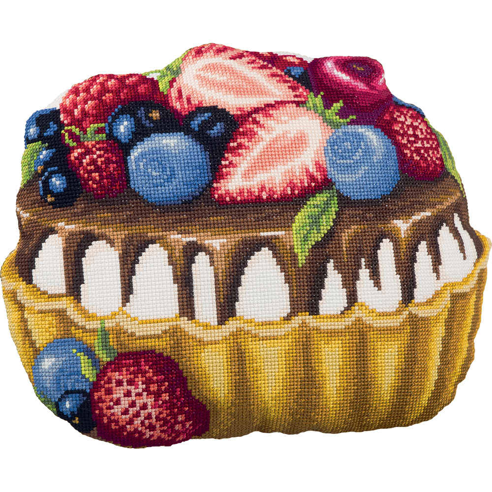Embroidery kits PANNA PD-1946 Cake Cushion Front
