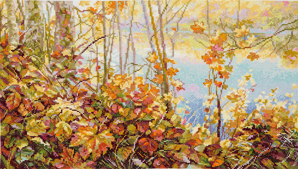 Embroidery kits PANNA Golden Series PS-1853 Marvellous Autumn