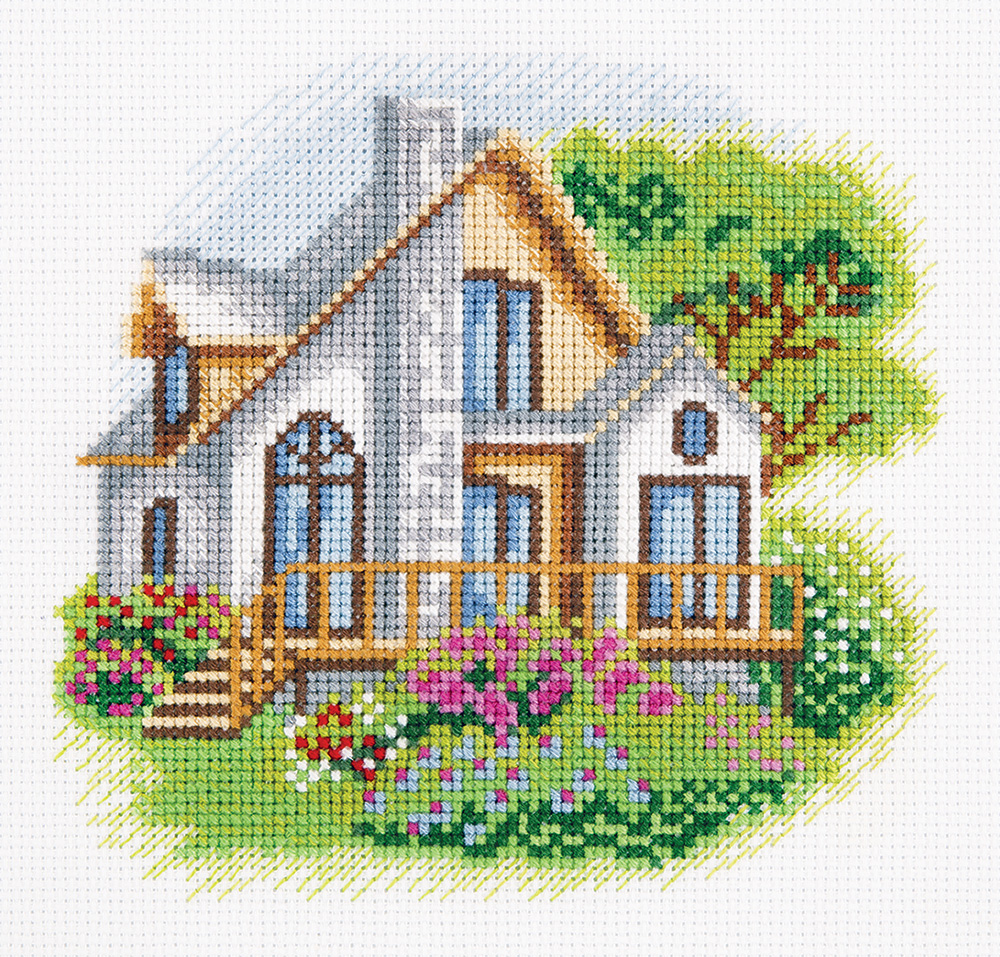 Embroidery kits PANNA 8-256 House on Woodland Lane