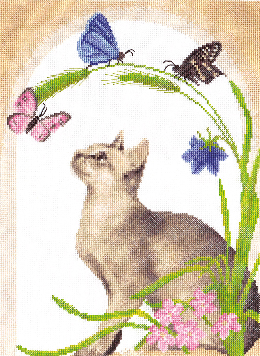 Embroidery kits PANNA K-0372 Summer Midday