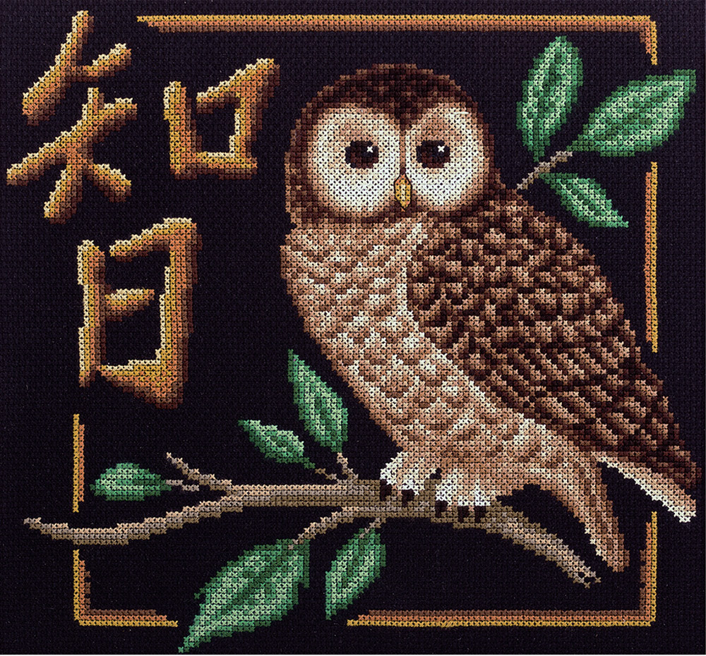 Embroidery kits PANNA I-1689 Wisdom