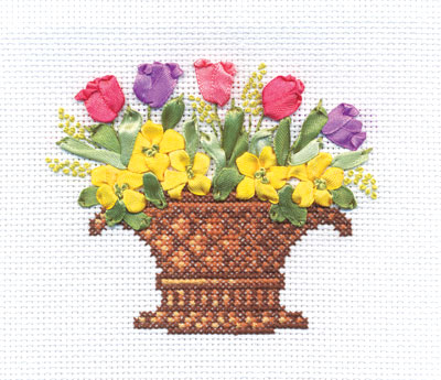 Embroidery kits PANNA C-0907 The Scent of Spring