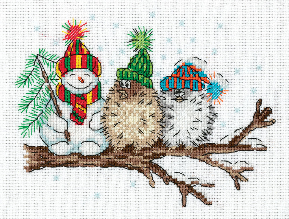 Embroidery kits PANNA 8-366 Among Friends