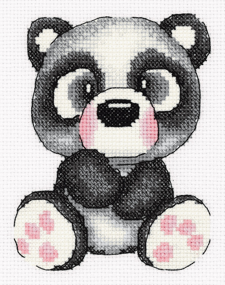 Embroidery kits PANNA 8-372  Gigi the Panda