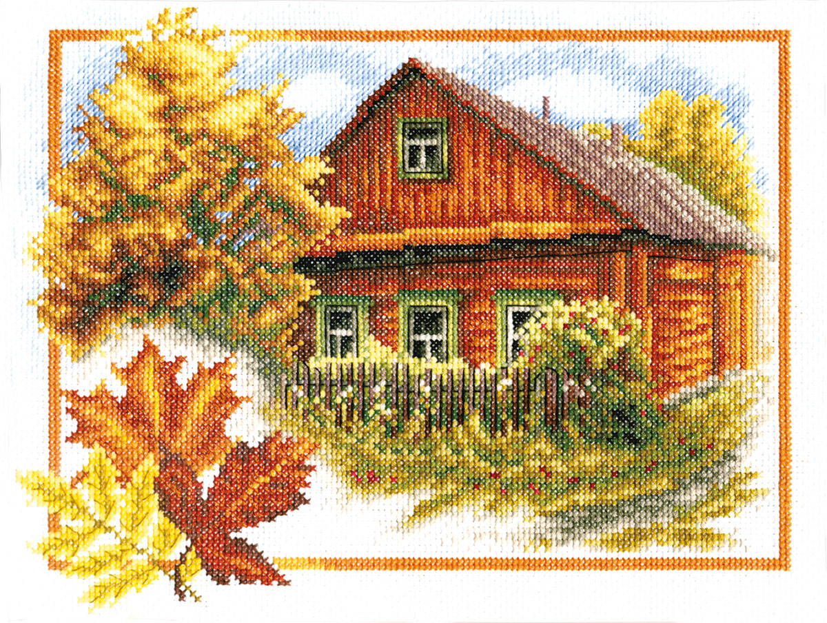 Embroidery kits PANNA PS-0314 Rural Autumn