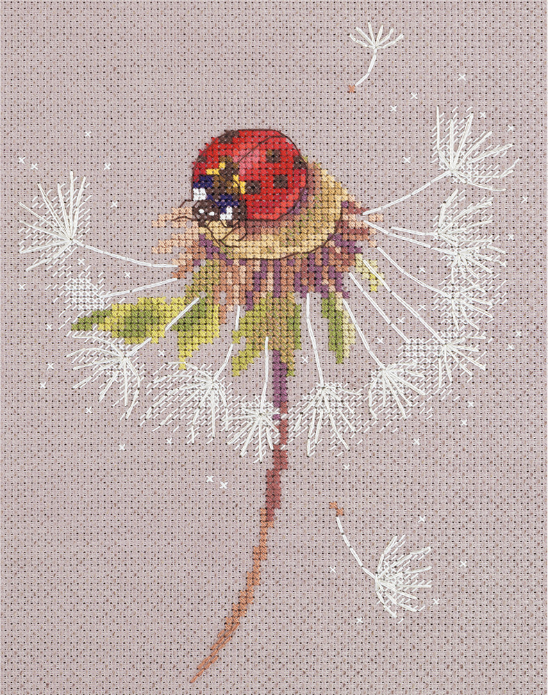 Embroidery kits PANNA PS-7034 Split Seconds of Summer. Ladybird