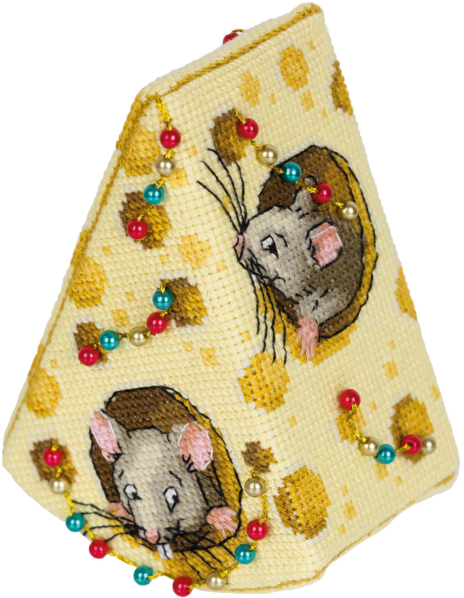 Embroidery kits PANNA IG-7168 Cheese for the Mice