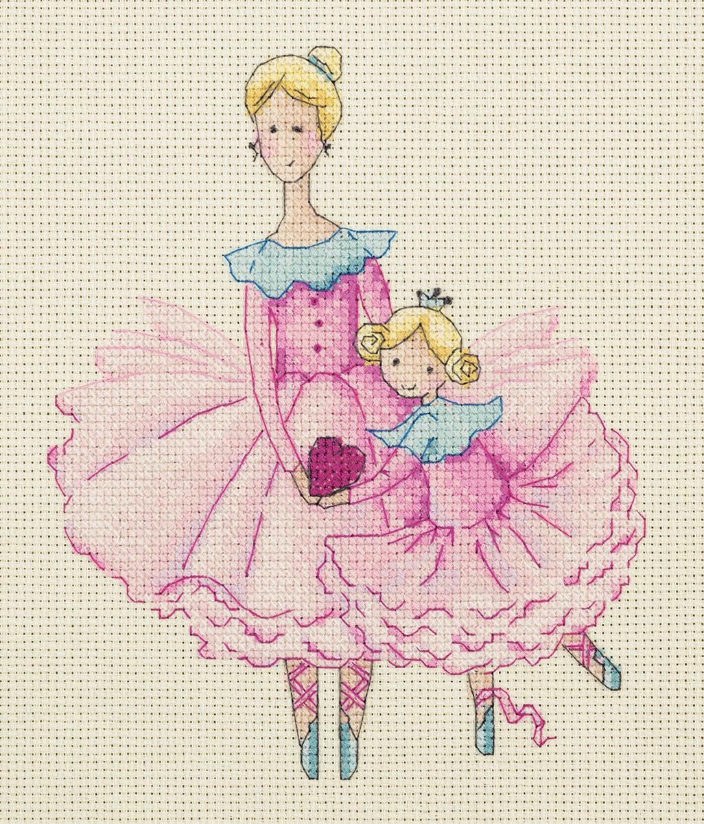 Embroidery kits PANNA 8-218 Mother and Daughter