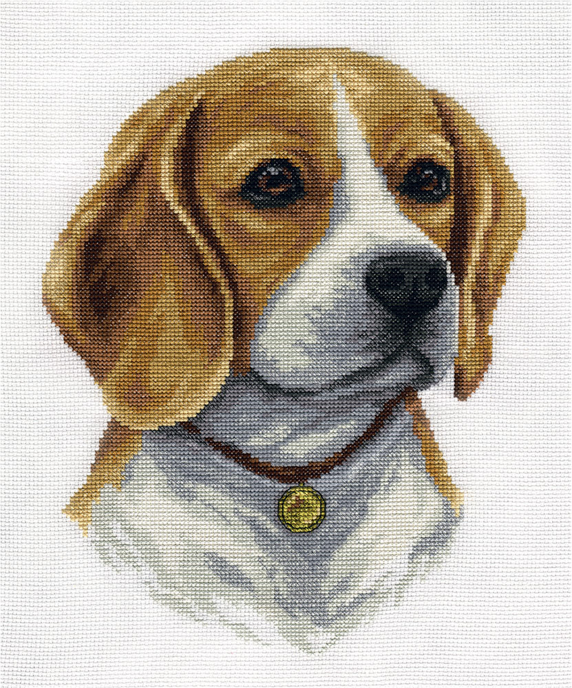 Embroidery kits PANNA J-1761 Beagle