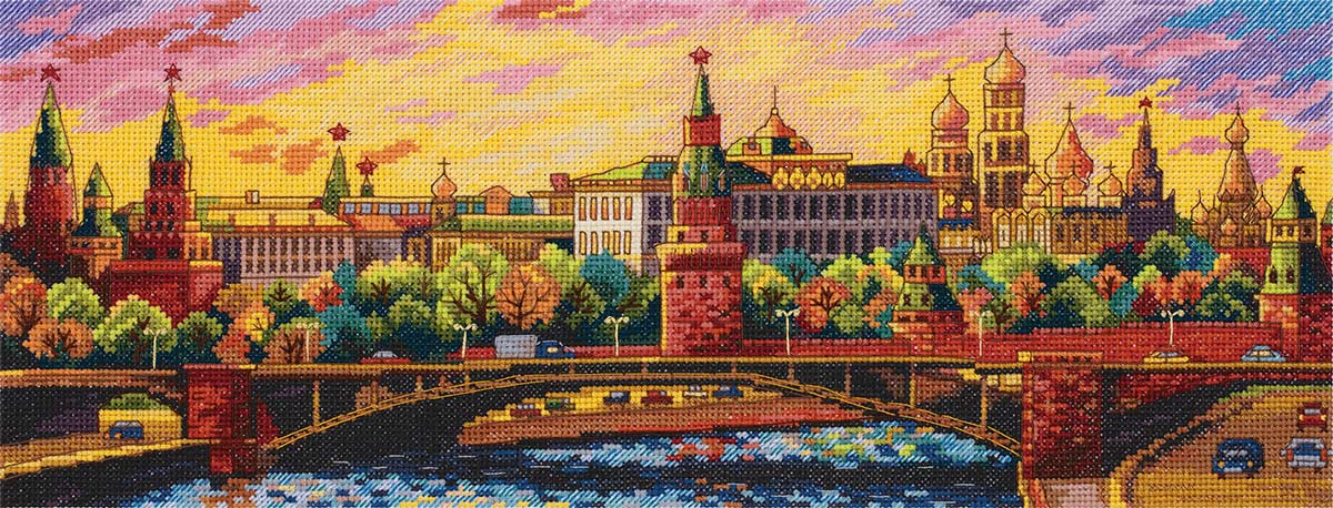 Embroidery kits PANNA G-7139 Moscow