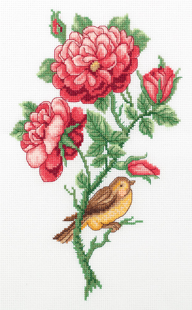 Embroidery kits PANNA 8-334 Persian rose