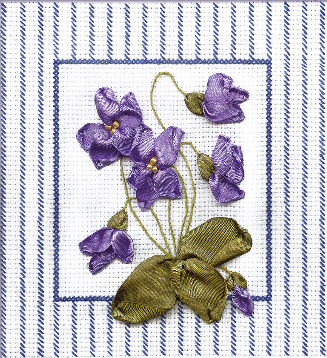 Embroidery kits PANNA C-0434 Violets
