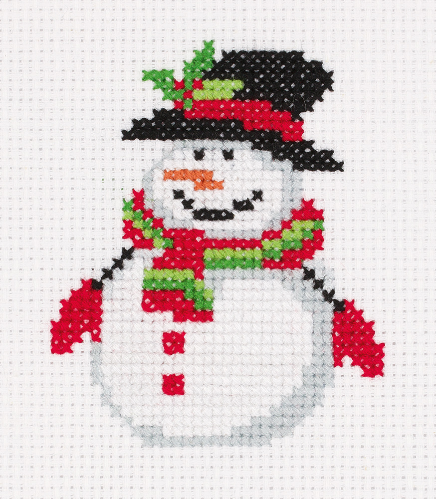 Embroidery kits PANNA 8-451 Snowman with Hat