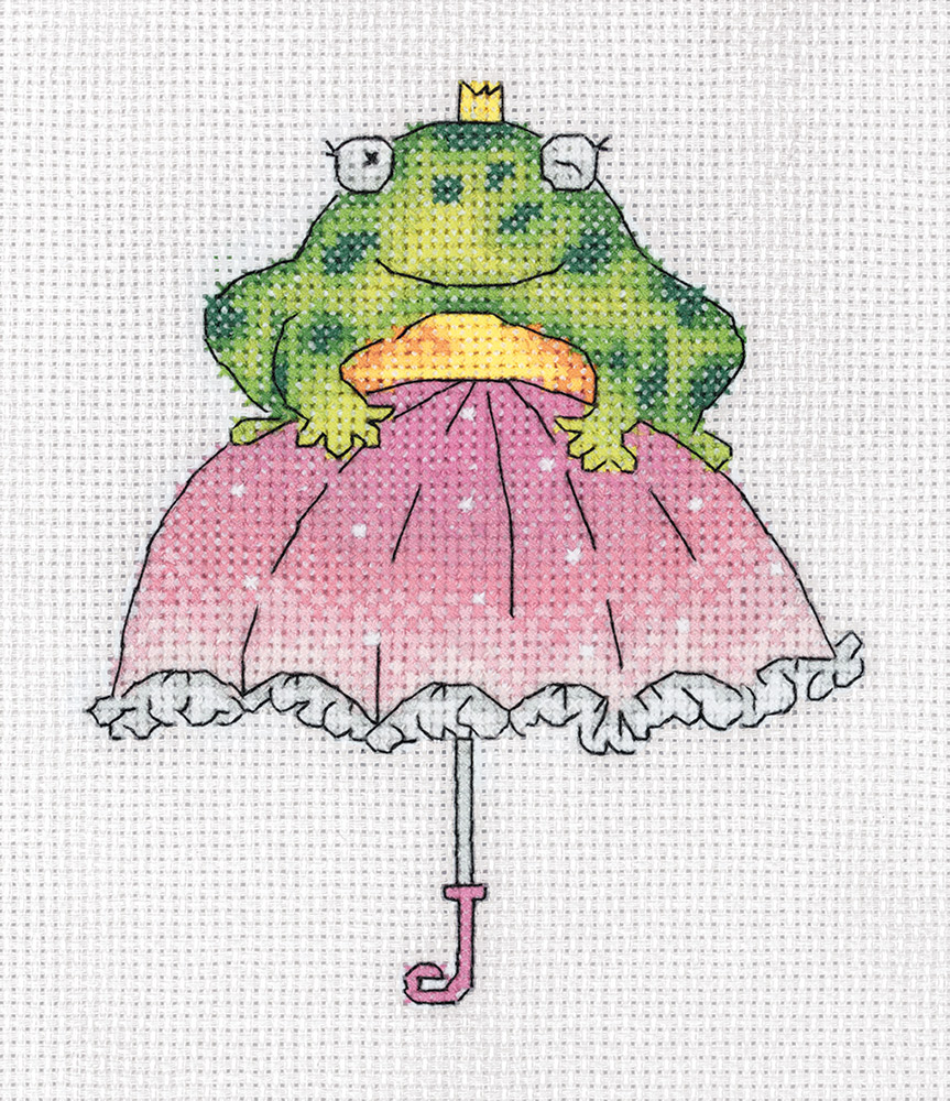 Embroidery kits PANNA 8-318 Janet the Frog