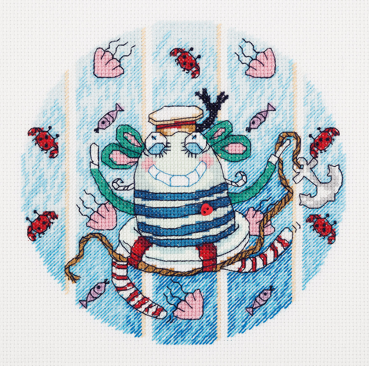 Embroidery kits PANNA 8-214 Monster of Travel