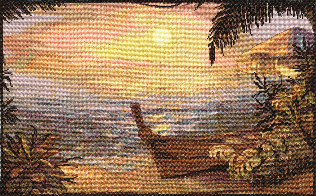Embroidery kits PANNA MT-1019 Sea Shore