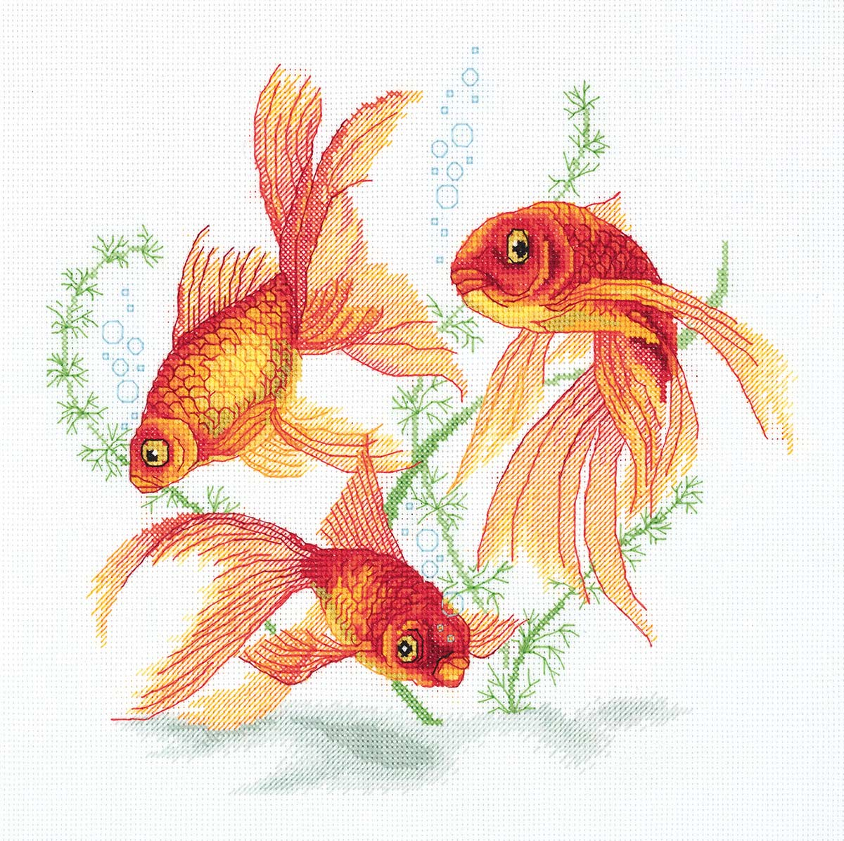 Embroidery kits PANNA R-7141 Goldfish