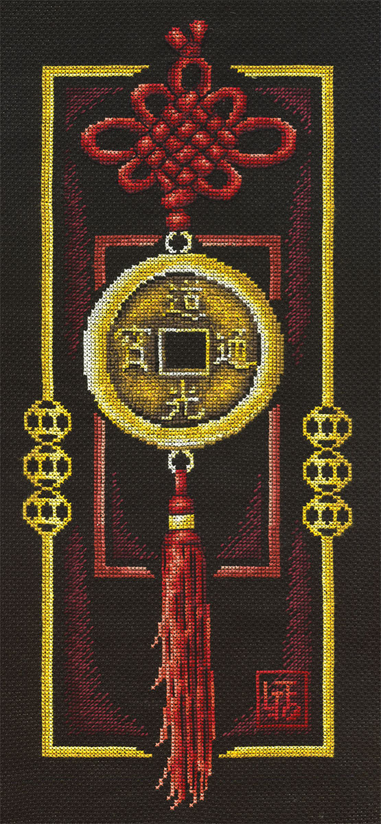 Embroidery kits PANNA SO-0658 Gold Coin