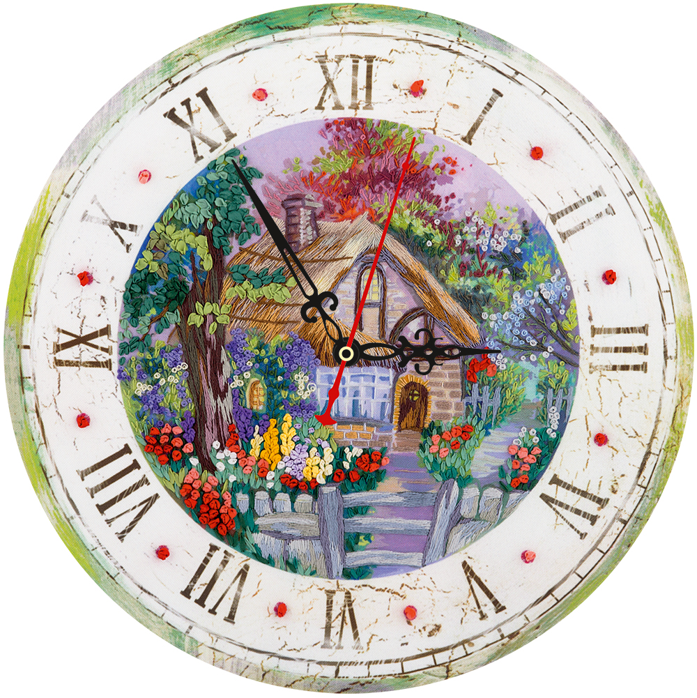 Embroidery kits PANNA Living Picture JK-2107 Cottage Clock