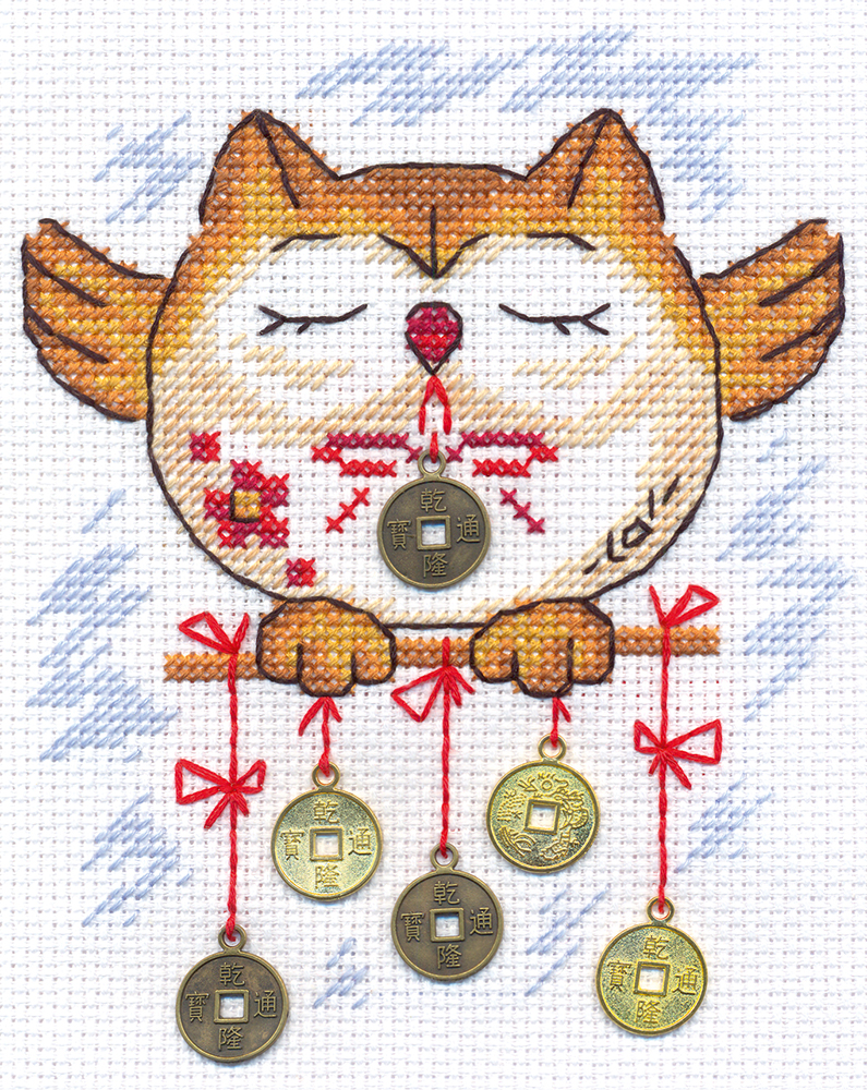 Embroidery kits PANNA I-0834