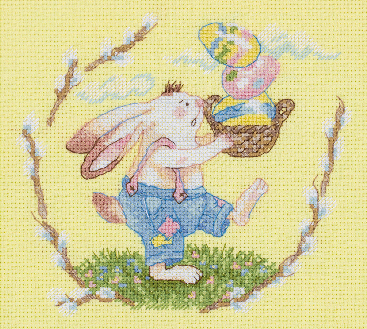 Embroidery kits PANNA 8-419 Easter Basket