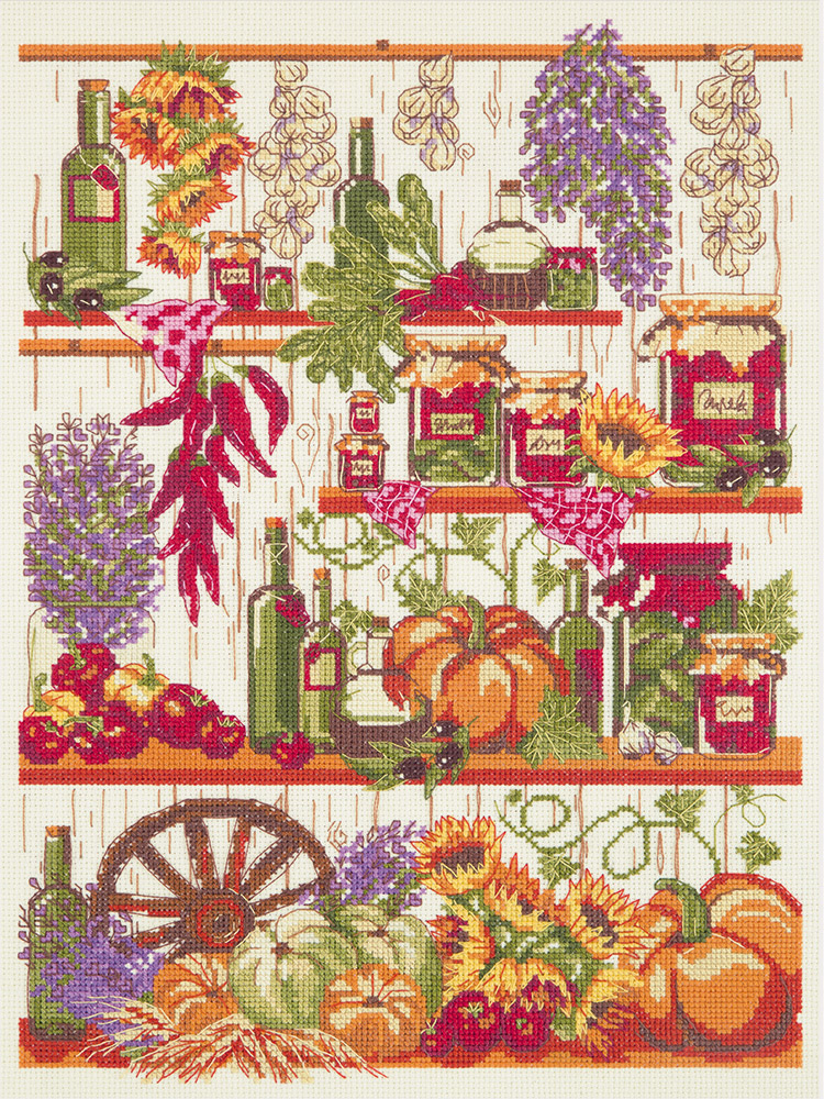 Embroidery kits PANNA KT-7006 Autumn's pantry