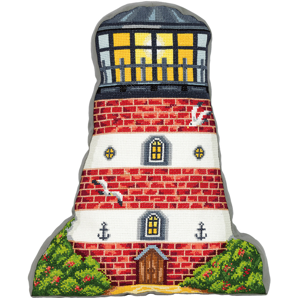 Embroidery kits PANNA PD-7174 Lighthouse (Cushion Front)