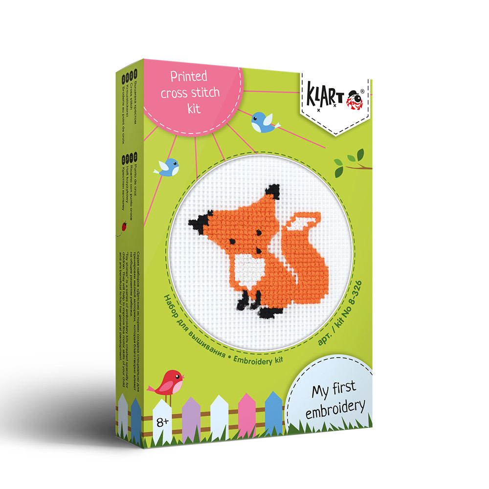 Embroidery kits PANNA 8-326 Toy Stories. Fox
