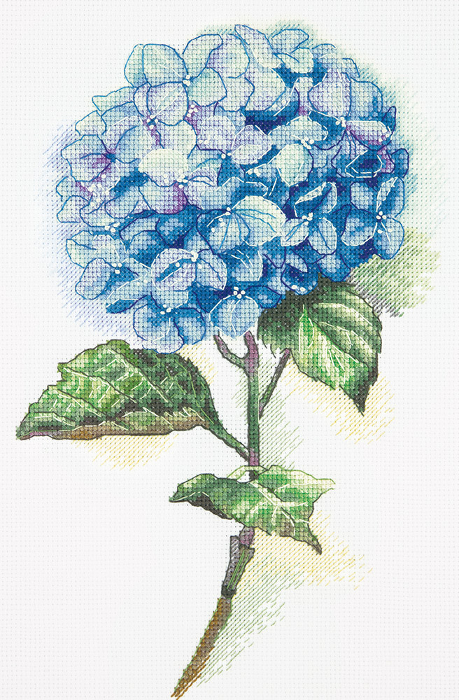 Embroidery kits PANNA C-1988 Blue Hydrangea