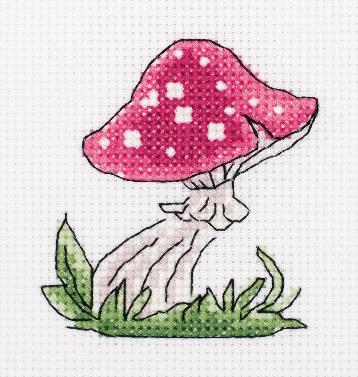 Embroidery kits PANNA 12-026 Magic Mushroom