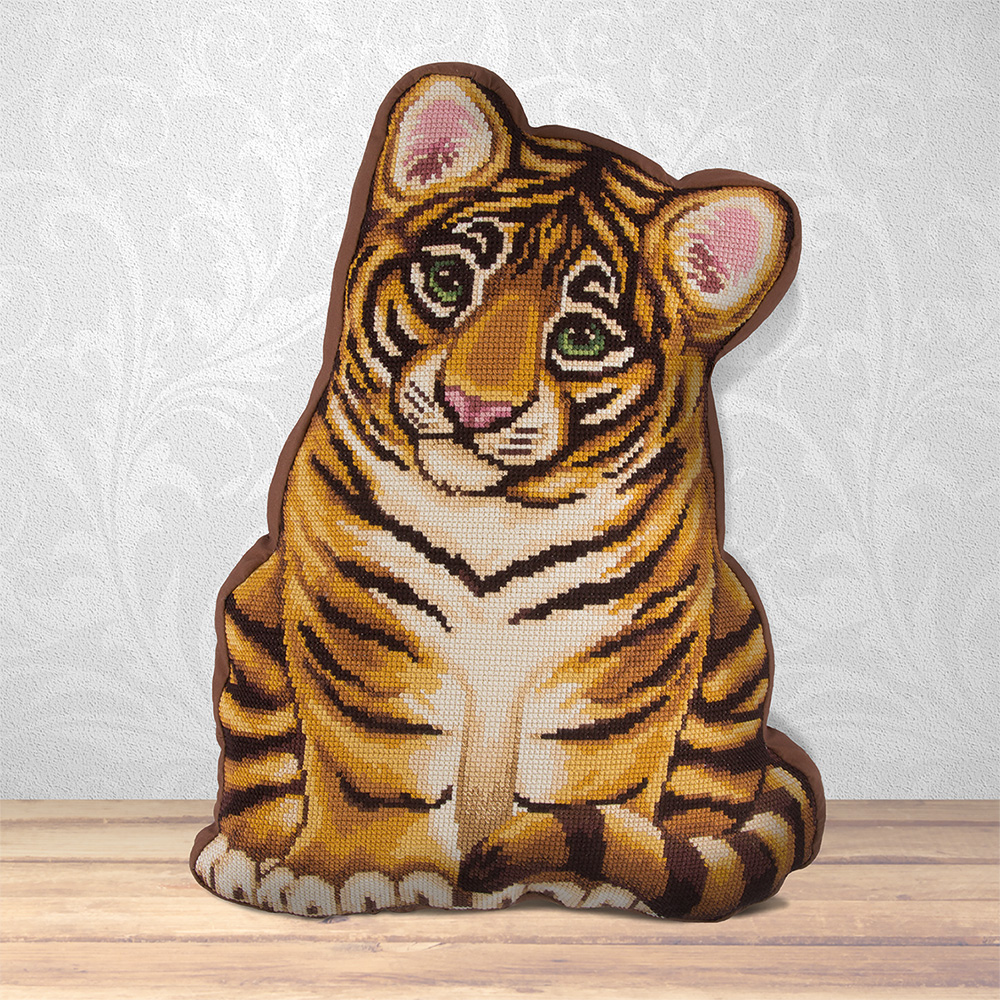 Embroidery kits PANNA PD-1834  My Tiger Cub