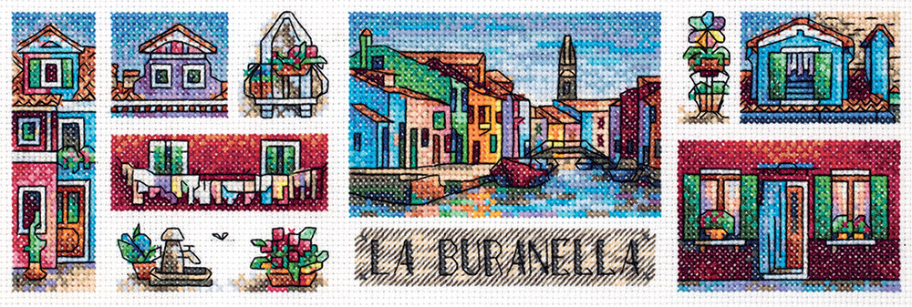 Embroidery kits PANNA GM-7027 Burano