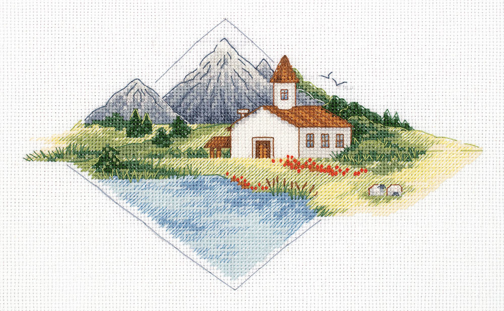 Embroidery kits PANNA 8-361 House in the Mountains