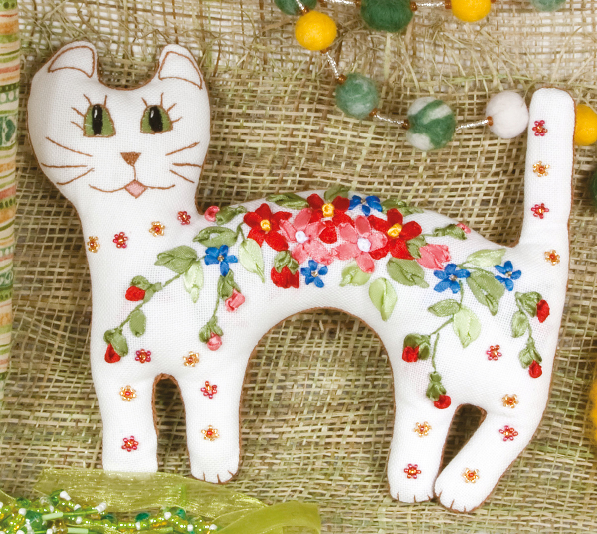 Embroidery kits PANNA IG-1178 Sweet Cat