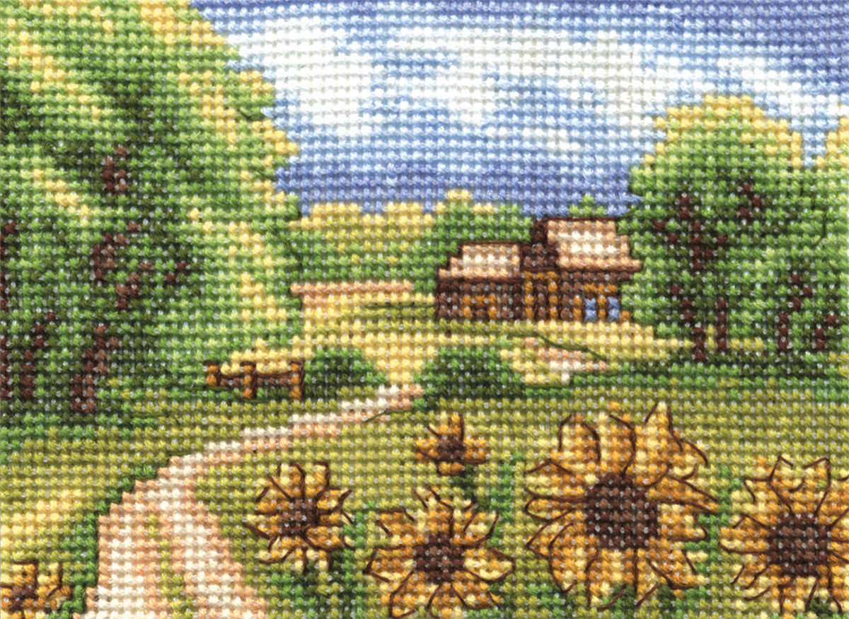 Embroidery kits PANNA PS-0103 Sunflowers