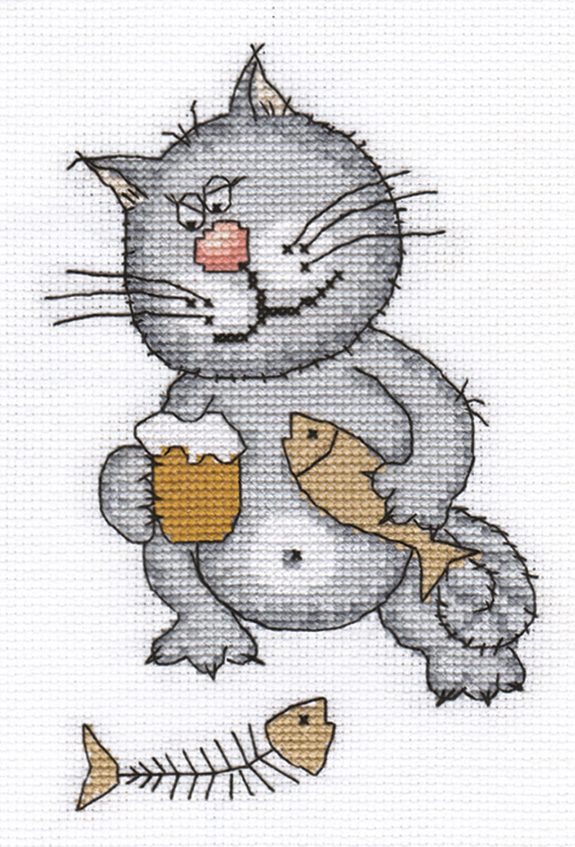 Embroidery kits PANNA K-0084 Life is Good