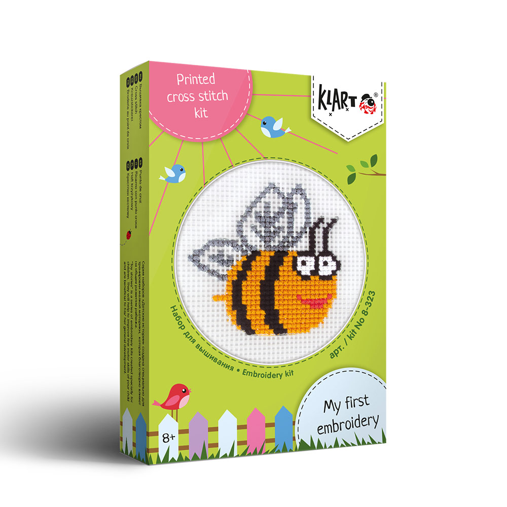 Embroidery kits PANNA 8-323 Toy Stories. Bee